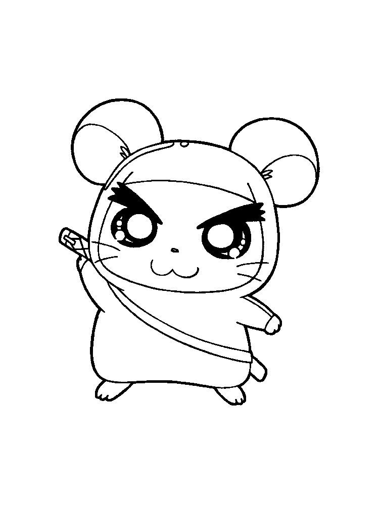 Hamster Coloring Pages Preschool Hamsters Small Animals That For Some People Look Like Mice Are Star Animal Coloring Pages Cute Coloring Pages Coloring Pages
