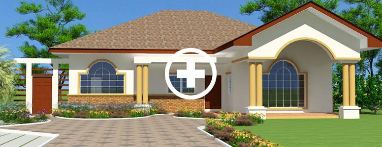 home designs house plan for africa ghana house plans - Single Family Home Designs