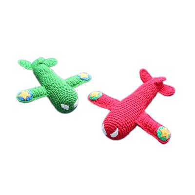 Happy Moments - Crochet - Rammelaar Vliegtuig