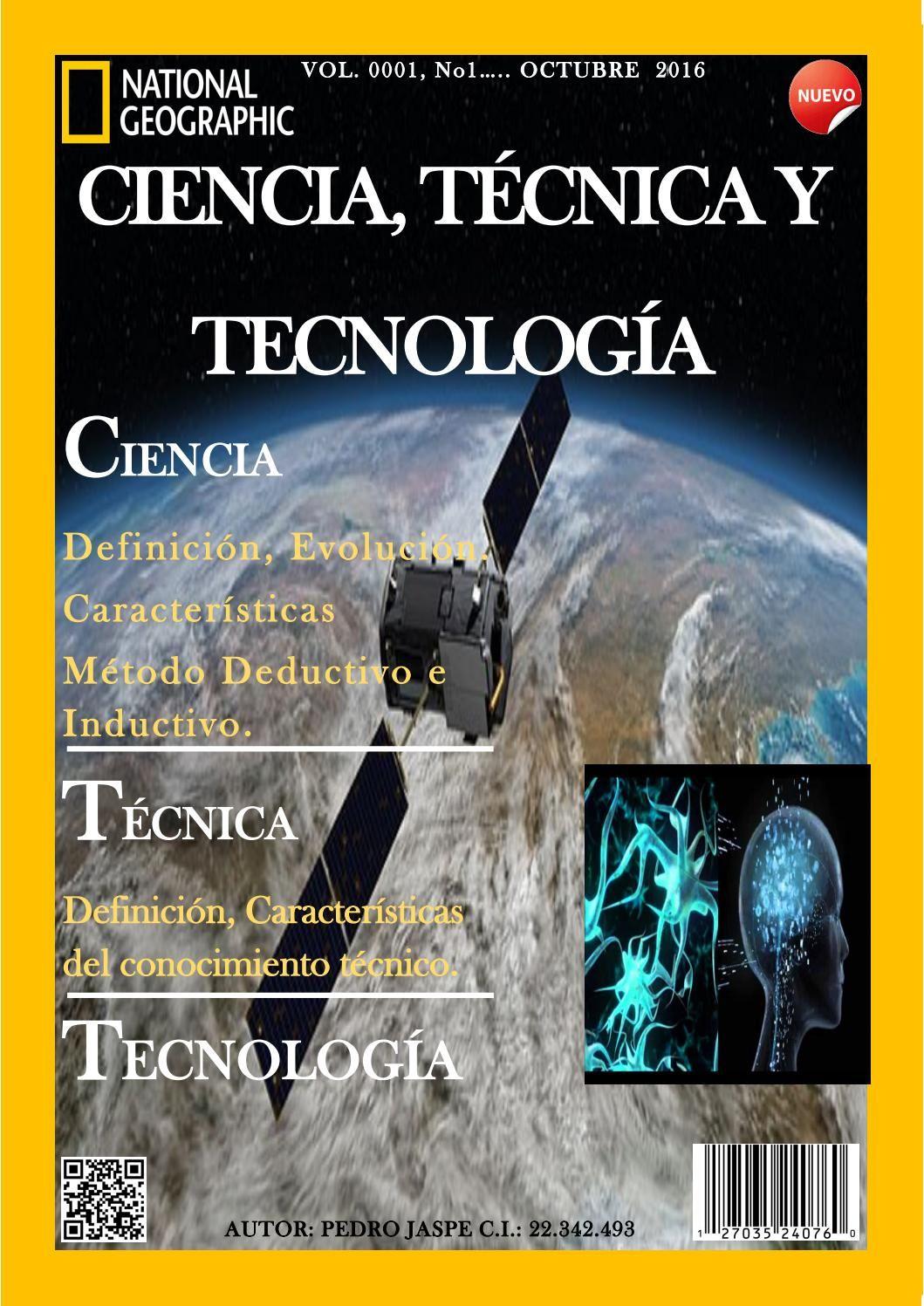 Revista Ciencia Tecnica Y Tecnologia Caracteristicas De La Ciencia Revistas Ciencia