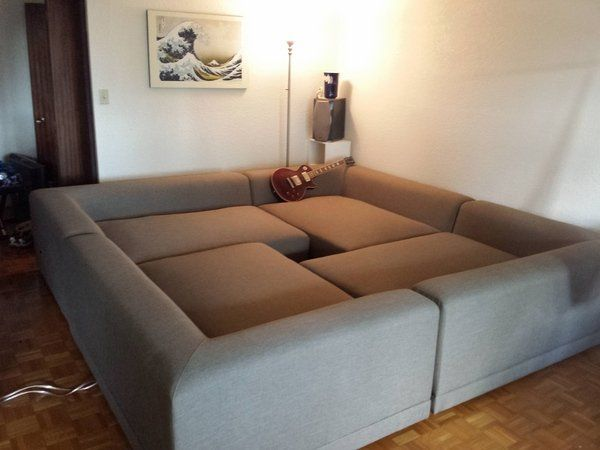 Square Couches Square Couch Pit Couch Sectional Sofa Ideas Living Room Furniture .