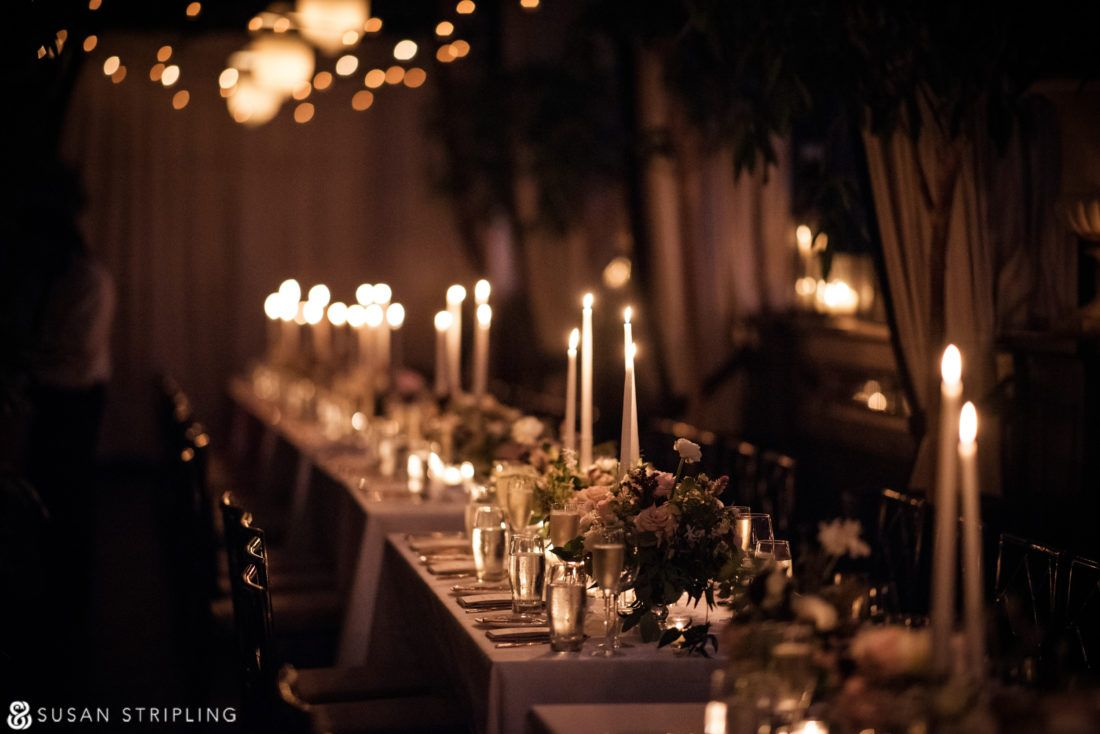 Wedding At The Gramercy Park Hotel Rooftop Ceremony And Candlelit