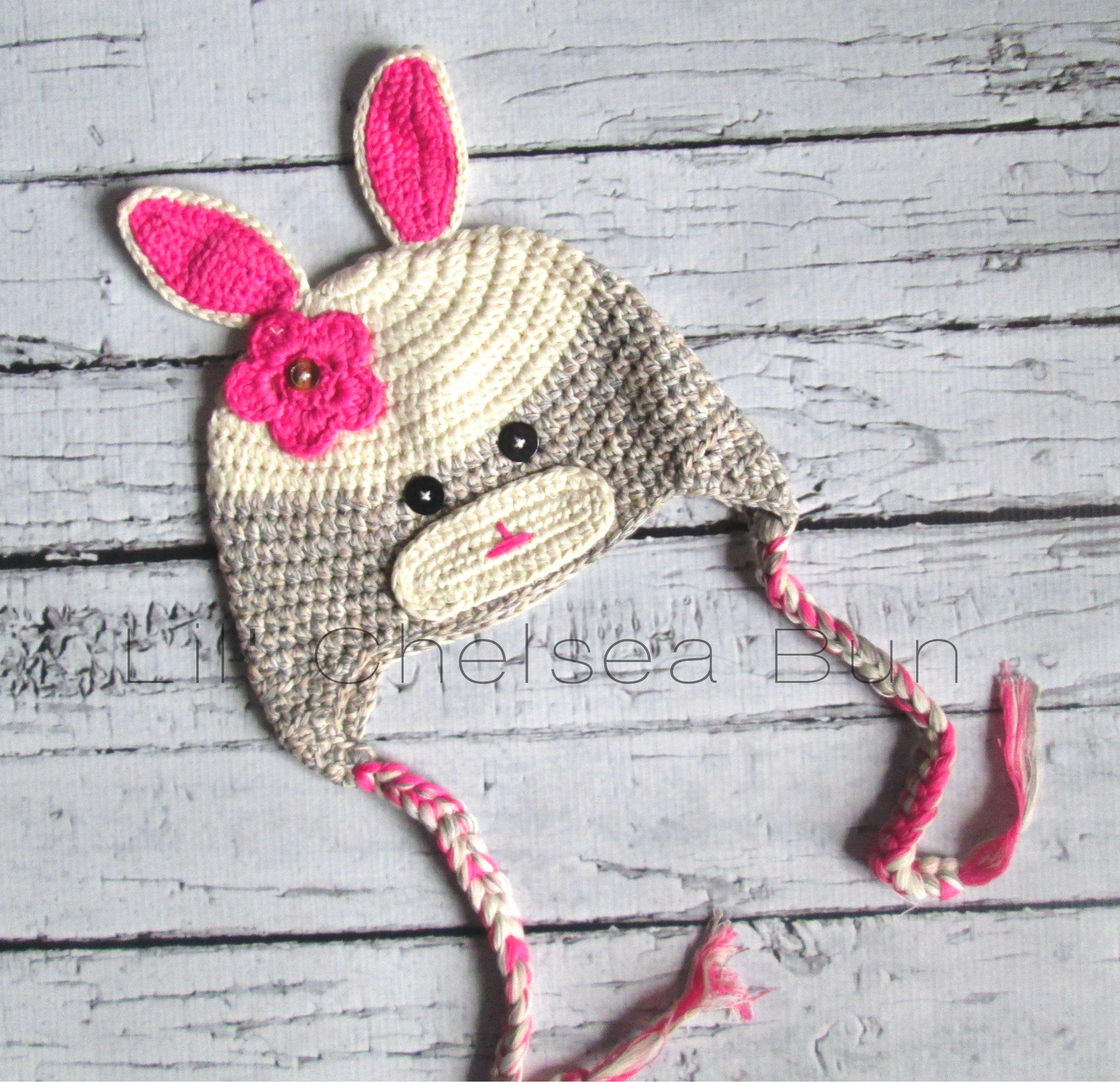 Rabbit Crochet Hat, baby Leyton so cute! | Baby Leyton Marie Sanders ...