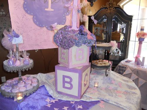 Captivating A Lavender Purple And Pink First Birthday Tea Party
