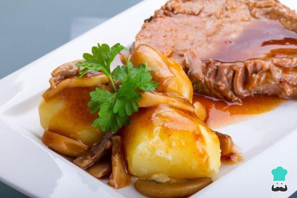 Lomos De Cerdo Con Salsa De Zanahoria Fácil Receta Cerdo En Salsa Lomo De Cerdo Recetas De Lomo