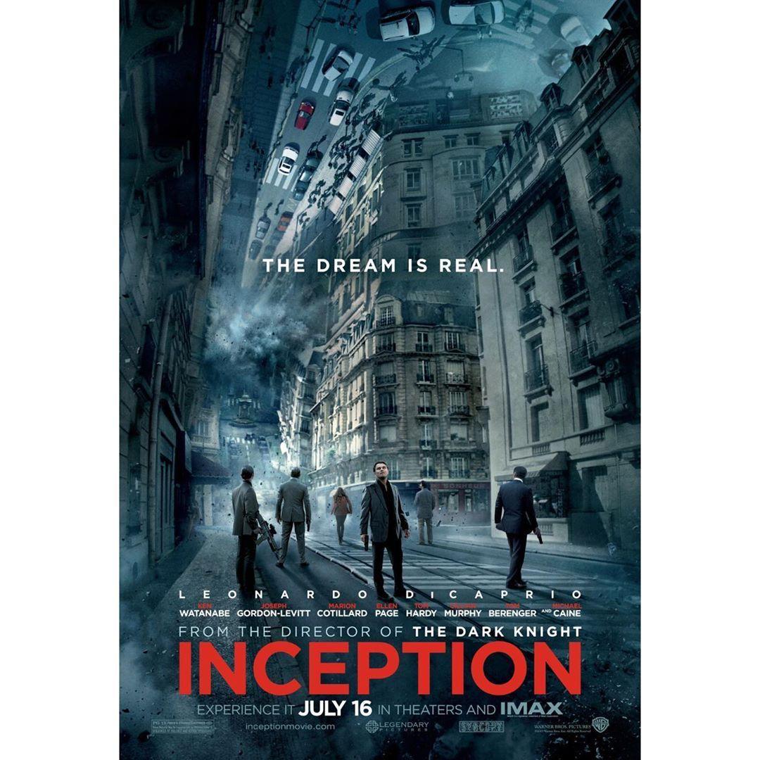 Film Inception Tur Bilim Kurgu Gerilim Yonetmen Christopher Nolan Oyuncular Leonardo Dicaprio Cillian Mu Posters Art Prints Movie Poster Art Poster Art