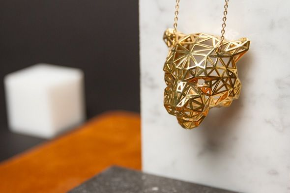 Enter a 3D Printed Jewelry Challenge from SketchUp and imaterialise