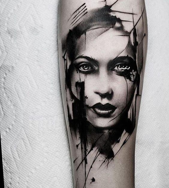 Pin By Boy Shikamaru On Tato Grey Tattoo Abstract Tattoo Abstract Art Tattoo