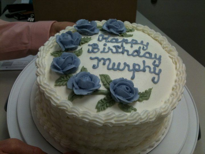 Cake I made for a co-worker.
