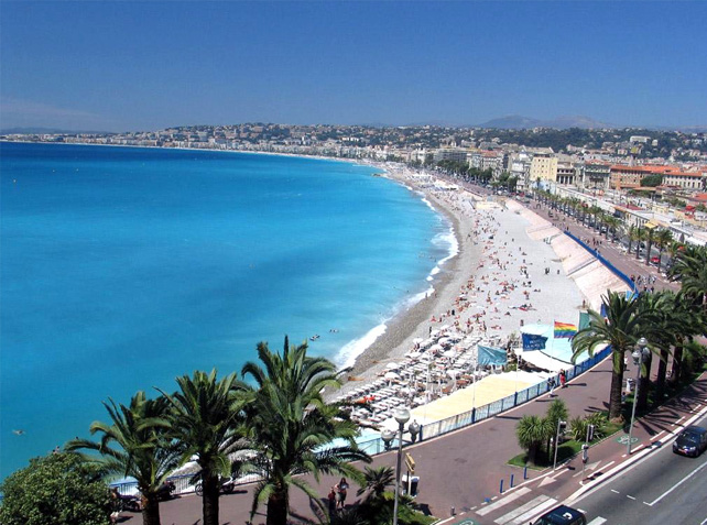 nice frankrike strand