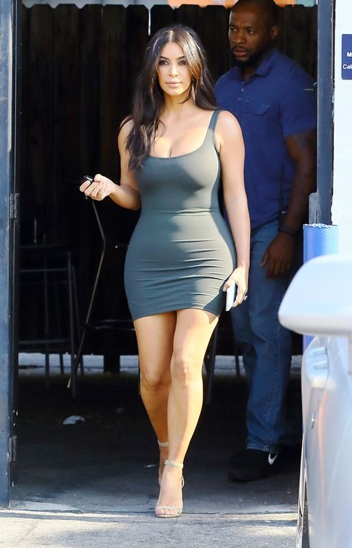 Kim Kardashian Diet Weight Age Height Body Measurements 2018 In 2020 Kim Kardashian Bodycon Dress Celebrity Workout