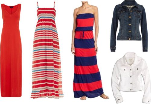 Maxi Dresses for the Fourth