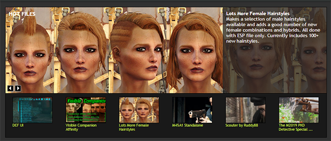 Lots More Female Hairstyles At Fallout 4 Nexus Mods And Community Womens Hairstyles Hair Styles Fallout