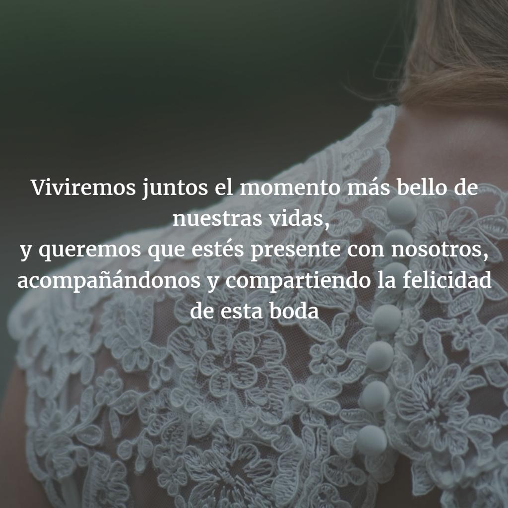 Poemas Para Invitaciones De 15 De Boda Texto Texto