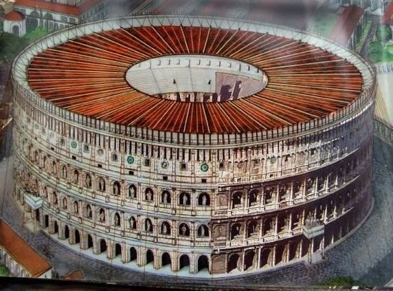 The Colosseum Originally Had A Retractable Roof This