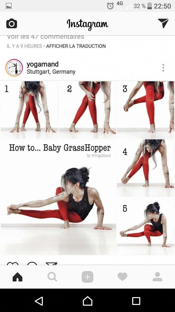 Four Advanced Yoga Poses