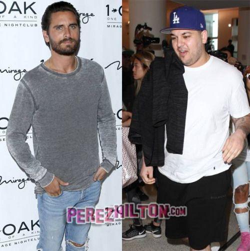Scott Disick Excited To See Rob Kardashian Finally Finding His...: Scott Disick Excited To See Rob Kardashian Finally Finding His Way: 'I'm…