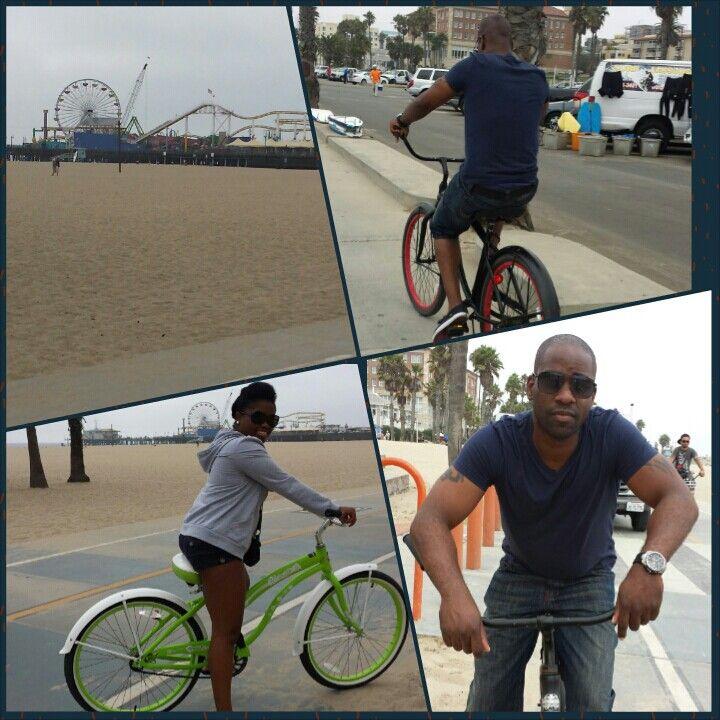 Bike riding at venice beach bike ride venice beach riding