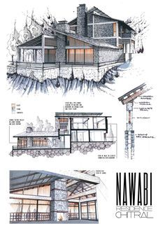 Image Result For Isometric Architectural Drawings Colour Hand