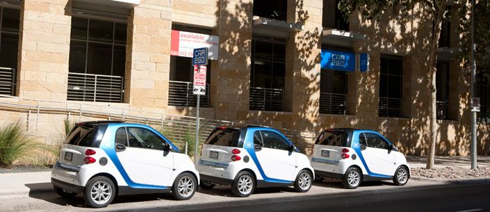 Austin S First Car Sharing Program Is Called Car2go Which Uses A