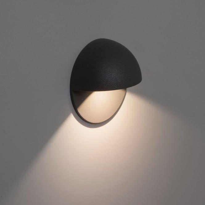 Astro Lights Tivola LED Black IP65 Exterior Wall Light in