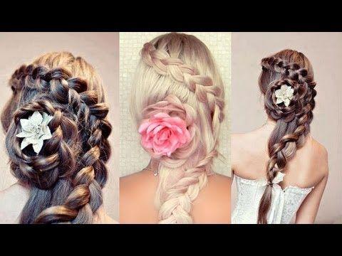 Pleasant Updo Prom Hair And Flower On Pinterest Short Hairstyles Gunalazisus