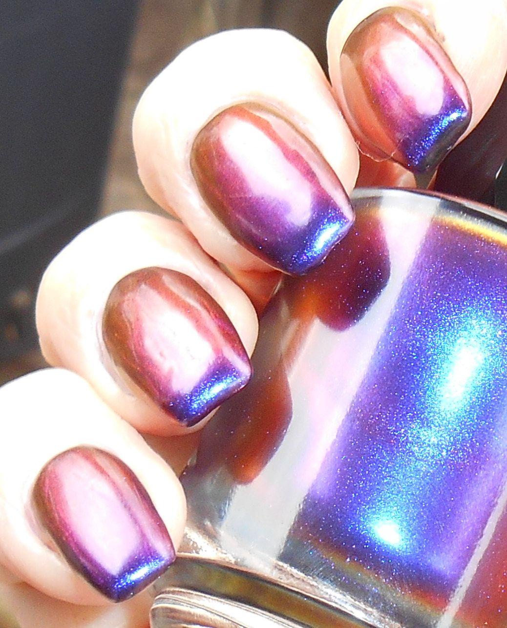 Gateway Drug - intense color saturation multichrome nail polish top ...