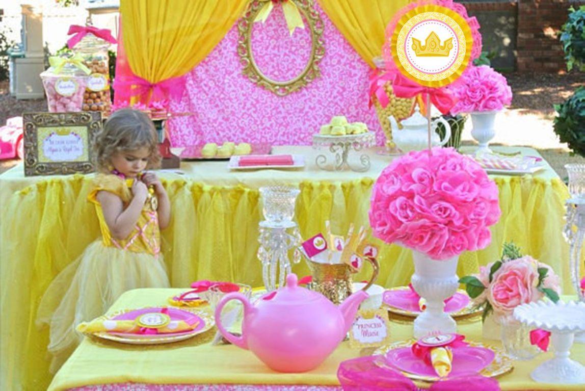 BELLE Party - PRINCESS Party - Princess BACKDROP - Bridal Shower ...