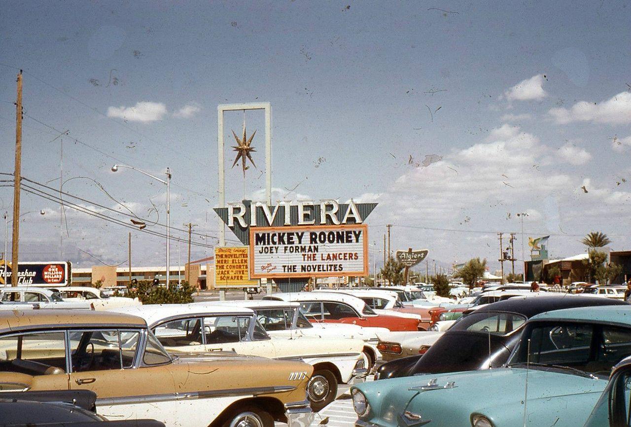 Las Vegas, NV, 1958. | 1960s Americana | Pinterest | Vegas, Parking ...