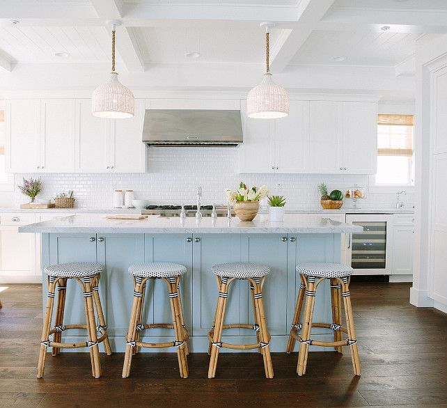 Friday\'s Favourites   Turquoise kitchen, Kitchens and Coastal