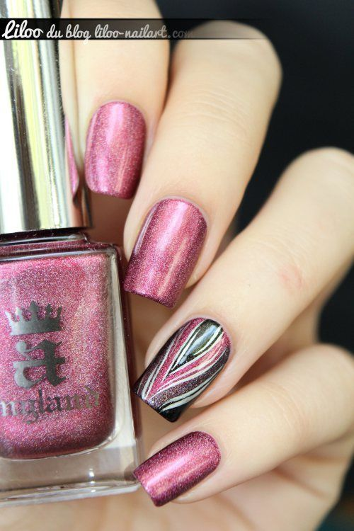 Uñas metálicas de inspiración | We Heart It | Nails | Pinterest ...
