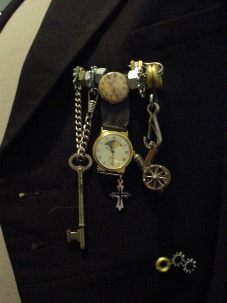 Boutonniere Love The Steampunk Corsages Boutioniers