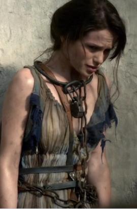 Gwendoline Taylor As Sibyl In Spartacus Roman