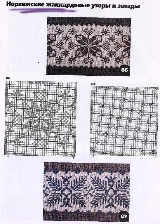 patrón de copo de nieve | Knitting | Pinterest | Patrón de copo de ...