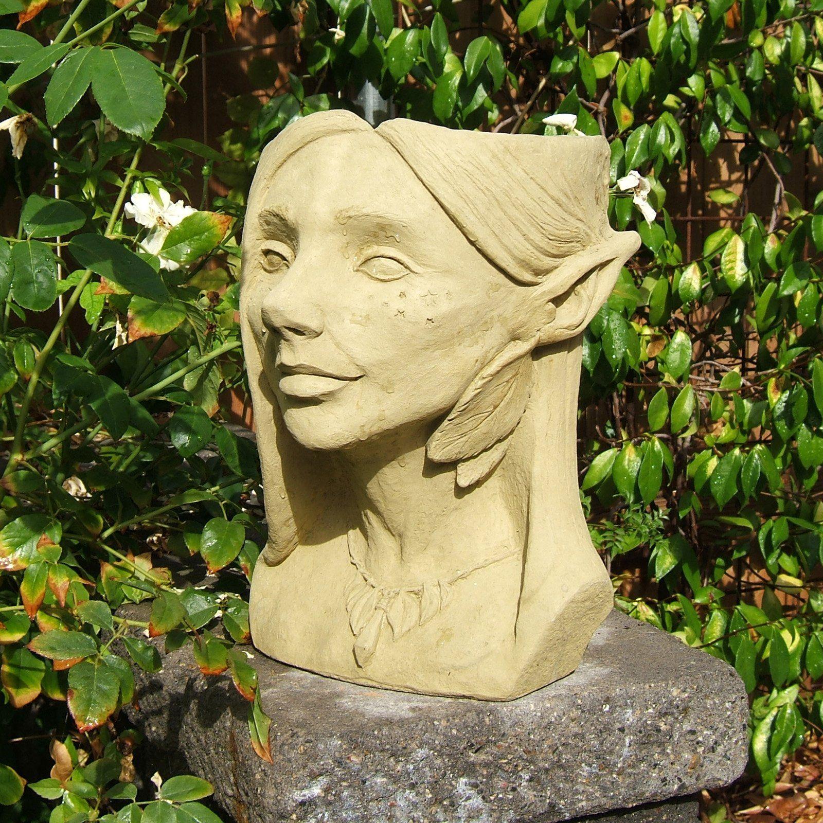 Have To Have It Designer Stone Fairy Head Planter 139 00 640 x 480
