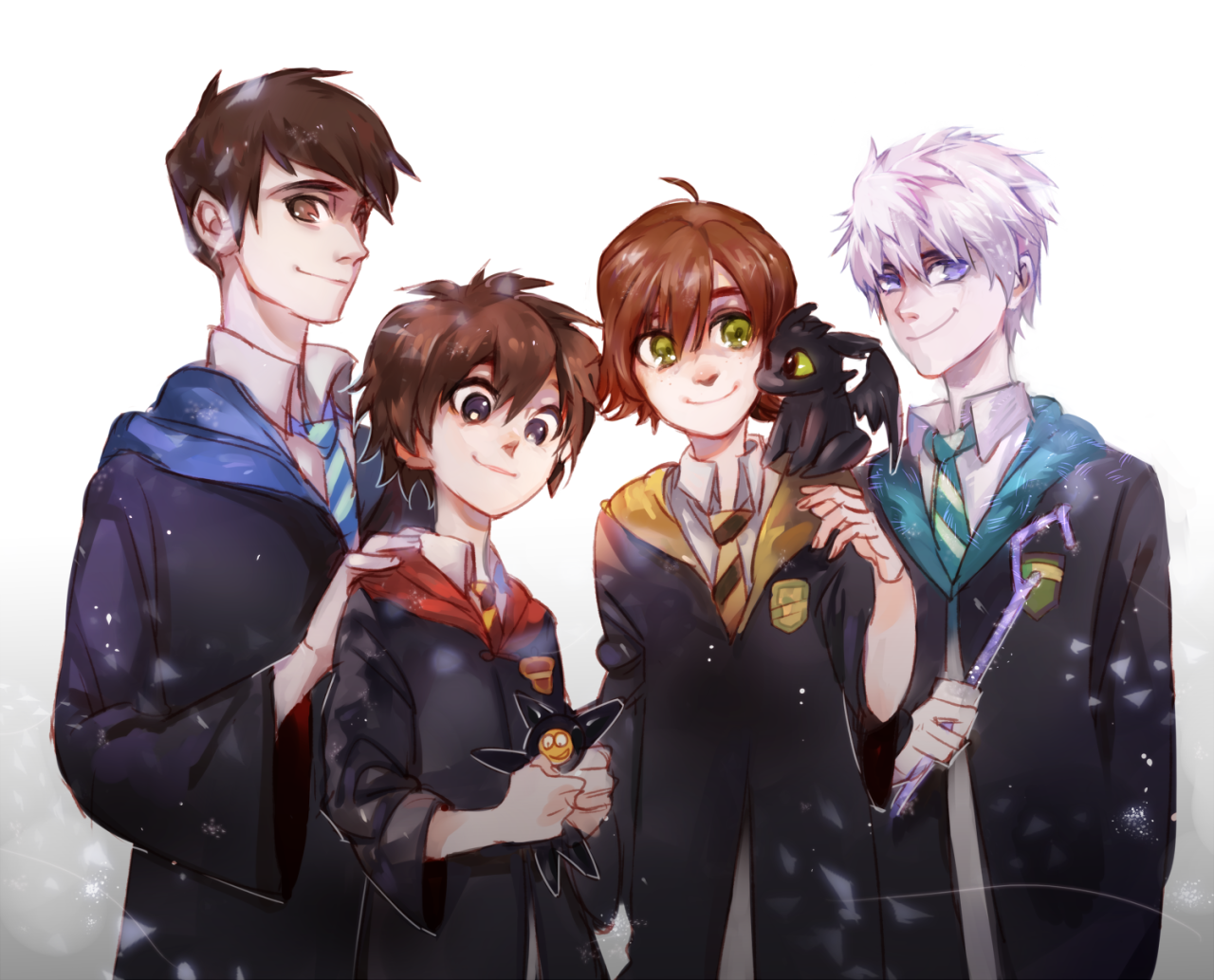 ROTBTD: my favorite Characters in Hogwarts! (ღ˘⌣˘ღ)I have already imagined a lot of Scene that they are together! the heart throbs, my babies <3