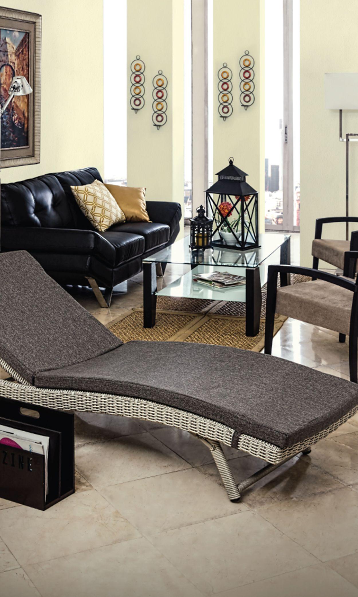 Moderno Sala Descanso Decoraci N Confort Relax Moda  # Muebles De Sala Fucsia