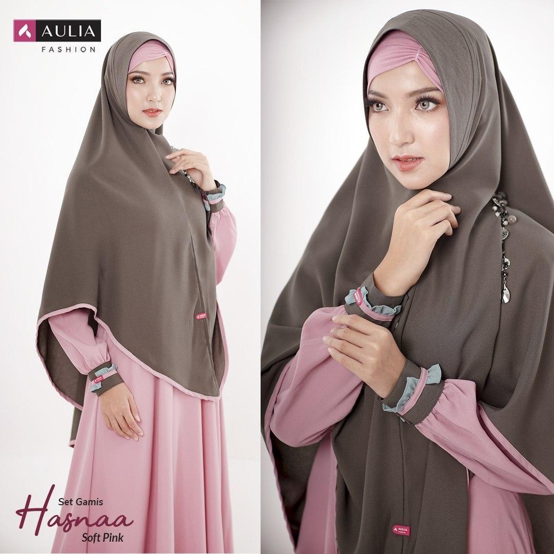 Warna Gamis Polos Cantik nan Elegan by AULIA FASHION