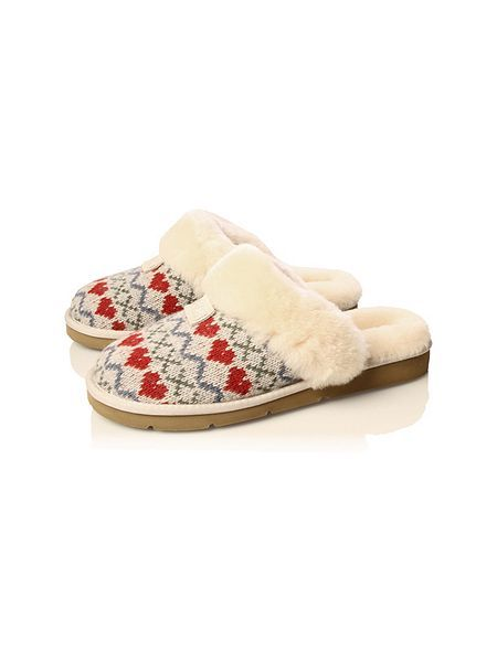 Ugg Cozy Knit Heart Slippers Alliwantforchristmasfromhof