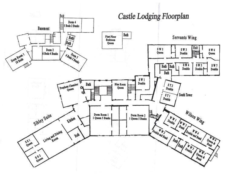 River Ridge A Quick History Floor plans, Mansion floor