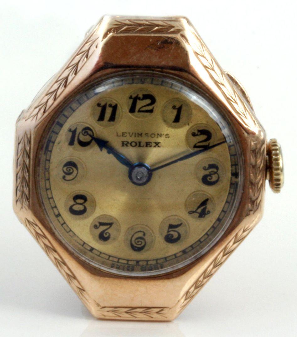 Montre femme or rose rolex 1927 au temps ancien bijoux vintage rolex rolex watches for Montre decoration