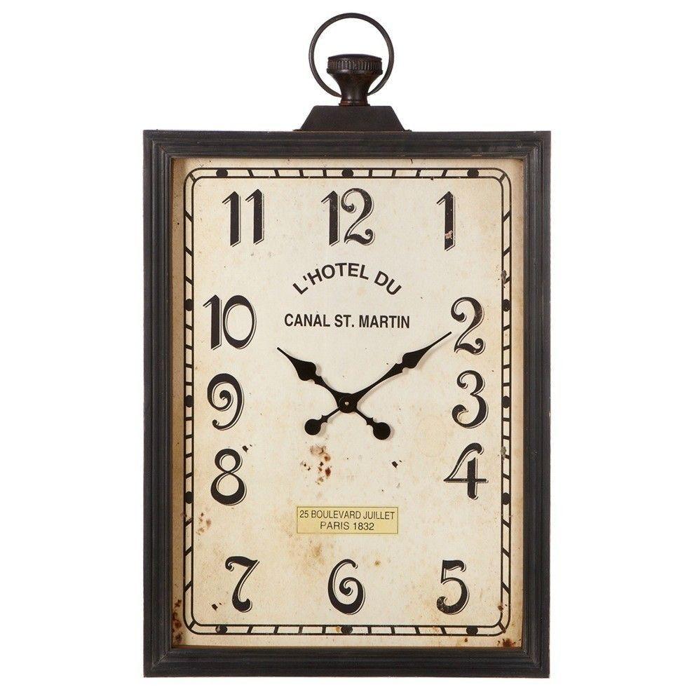Victory Rectangle Pocket Watch Wall Clock Clock Wall