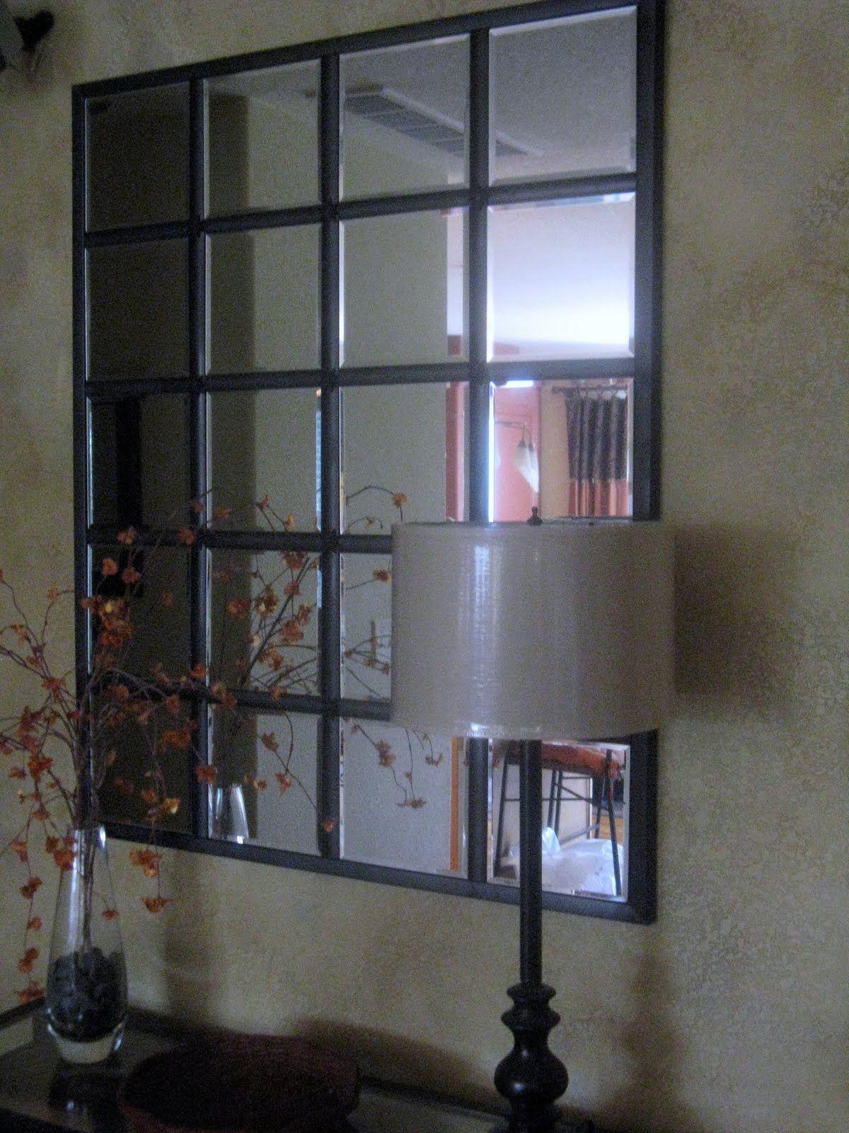 I Finished It Friday Pottery Barn Eagan Mirror Decoracion De