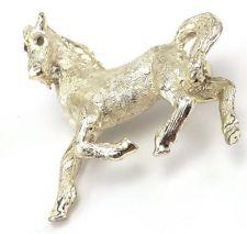 Vintage Silver Tone Hammered Horse Rhinestone Pin Brooch http://www.ebay.com/itm/Vintage-Silver-Tone-Hammered-Horse-Rhinestone-Pin-Brooch-/141628639611?pt=LH_DefaultDomain_0&hash=item20f9b9897b
