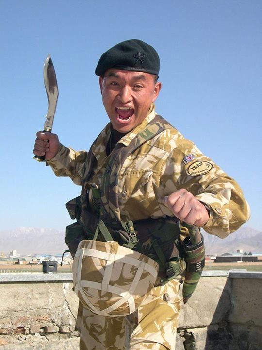 Sgt Kajiman Limbo Of The Royal Gurkha Rifles British