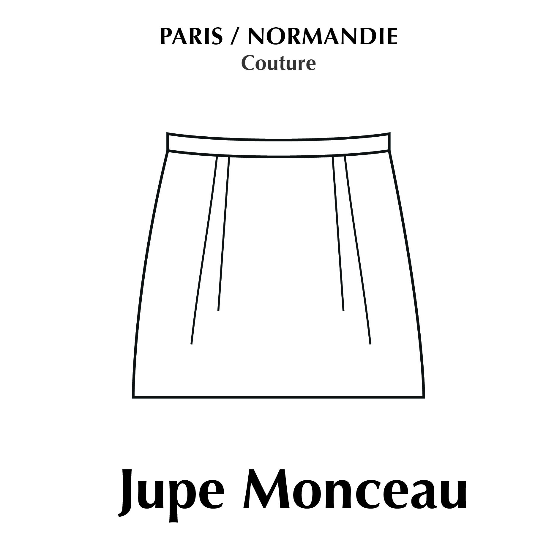 PNCOUTURE JUPE MONCEAU | Jupe, Jupe diy, Couture