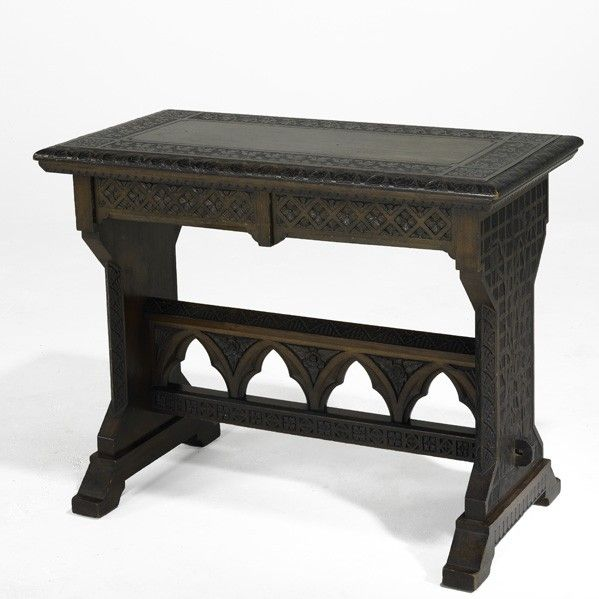 Cincinnati art carved furniture on