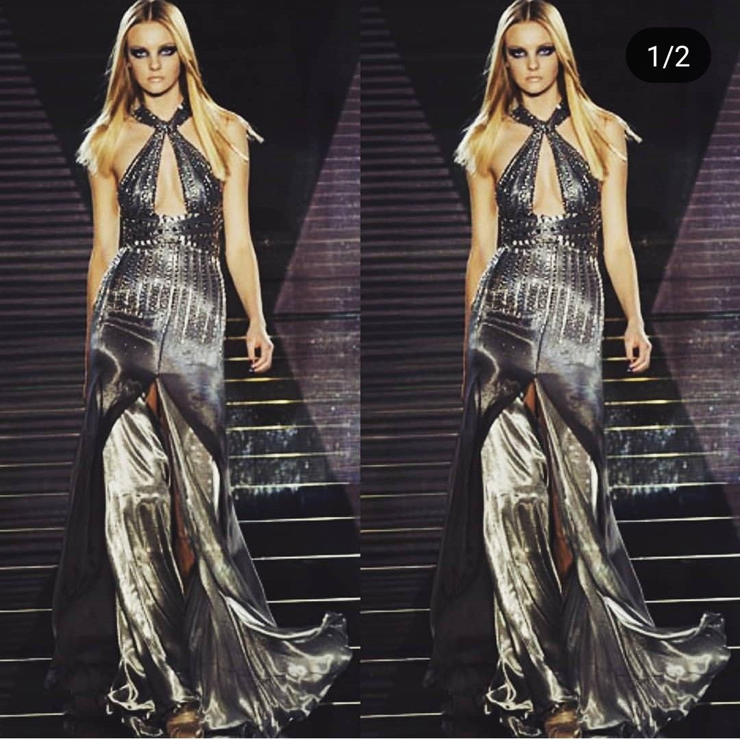 Caroline Trentini For Versace Fw06