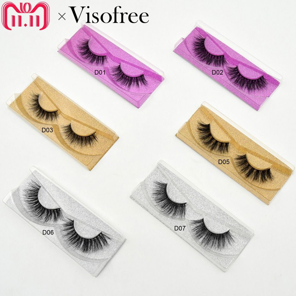 e2e0f476984 Check Price Visofree Mink Eyelashes 3D Mink Lashes Natural False Eyelashes  cruelty free Mink Eyelashes Lightweight