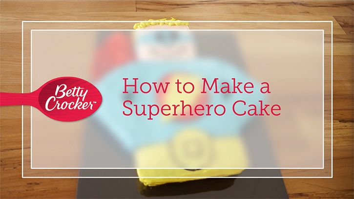 Learn the simple steps to making this easily customizable, show-stopping cake—no super powers needed.
